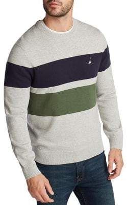 Nautica Colorblock Cotton Sweater