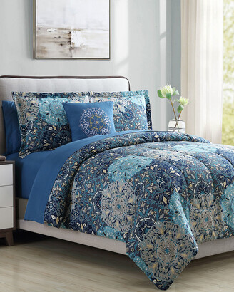 Modern Threads Printed Reversible Complete Bed Set