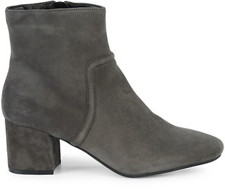 Kenneth Cole New York Ives Bombay Suede Block-Heel Booties