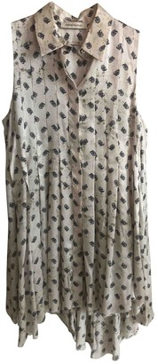 Pierre Balmain White Silk Top for Women