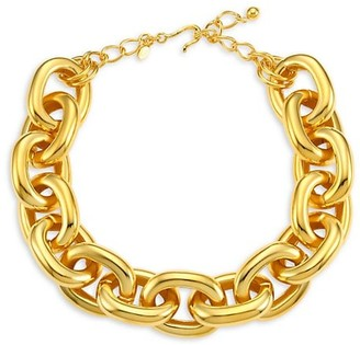 Kenneth Jay Lane Polished Link Necklace