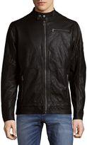 Buffalo David Bitton Men's Jorges Full-Zip Jacket - Black, Size x-large