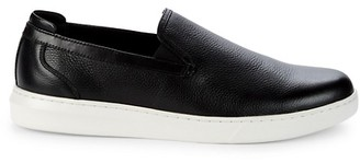 Kenneth Cole New York Linus Leather Slip-On Sneakers