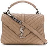 Saint Laurent medium Monogram Collège bag - women - Calf Leather/rubber - One Size