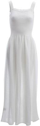 Alaia \N White Cotton Dresses