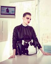 Givenchy Antigona Medium Cow-Print Calf Hair Satchel