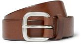 Andersons Anderson's 3cm Brown Leather Belt