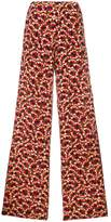 Marni printed wide-leg trousers