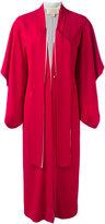 Antonio Berardi long kimono coat - women - Acetate/Rayon - 40