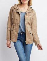 Charlotte Russe Cargo Pocket Anorak Jacket