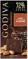 Godiva 72% Cacao Dark Chocolate with Almonds