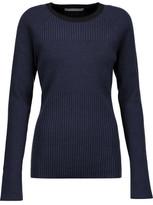 Jason Wu Ribbed Silk-Blend Sweater