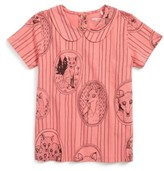 Mini Rodini Toddler Girl's Fox Family Tee