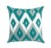 Pin It DwellStudio Diamond Ikat Pillow - Azure