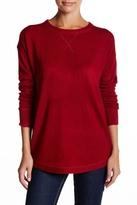 Sweet Romeo Open Stitch Sweater Sweatshirt