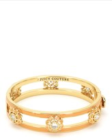 Juicy Couture Enamel Flower Bangle