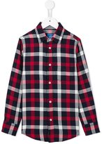 Fay Kids checked shirt