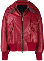 Isaac Sellam Experience leather bomber jacket