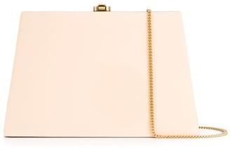 Rocio Constance two-tone clutch bag
