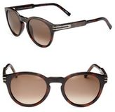 Montblanc 51MM Round Sunglasses