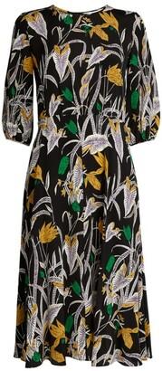 Diane von Furstenberg Bali Bliss Floral Dress