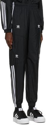 adidas Black Adicolor Classics Disrupted Icon Track Pants