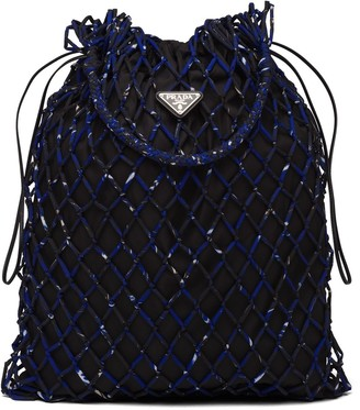 Prada Mesh Shoulder Bag