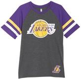 Unk Nba NBA Clutch Ringer Sleeve Los Angeles Lakers T-Shirt