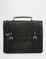 Asos Scallop Satchel Bag