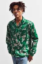 Urban Outfitters Floral Satin Button-Down Shirt