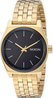 Nixon Women's Medium Time Teller Japanese-Quartz Watch with Stainless-Steel Strap