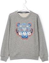 Kenzo Tiger sweatshirt - kids - Cotton - 16 yrs