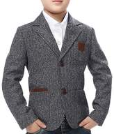 JiaYou Child Kid Boy Casual Slim Fit Blazer Jacket