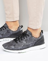 BOSS GREEN By Hugo Boss Runner Camo Sneakers
