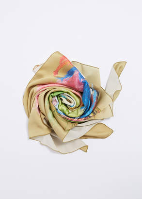 Pleasure Garden Magazine Floral Silk Scarf