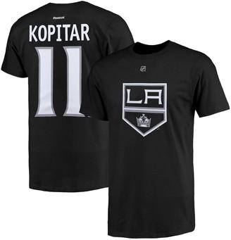 Reebok Men's Los Angeles Kings Anze Kopitar Black Name and Number T-Shirt