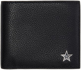 Givenchy Black Leather Star Wallet