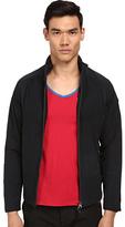 Armani Jeans Lamb Suede and Nylon Jacket Men's Coat