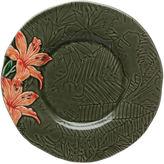 One Kings Lane Tropical Dessert Plate, Iris