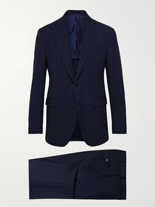 Sid Mashburn Kincaid No. 3 Slim-Fit Stretch-Cotton Seersucker Suit