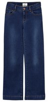 Cyrillus Blue Mid Wash Flared Jeans