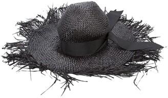 Gigi Burris Millinery destroyed sun hat