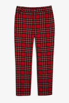 Monki Stretchy high-waist trousers
