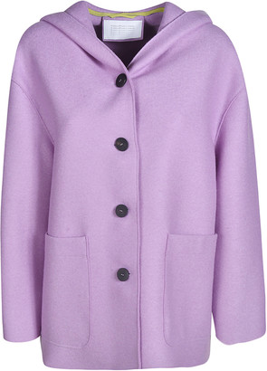 Harris Wharf London Oversized Hooded Jacket