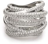 Ice Multi Layered Band Diamond Ring
