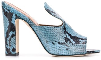 Paris Texas Peep Toe Sandals