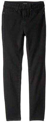 Joe's Jeans The Charlie Skinny High-Waisted in Jet Black (Little Kids/Big Kids) (Jet Black) Girl's Jeans