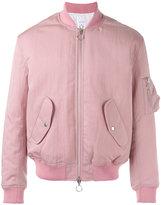 Soulland Thomasson bomber jacket - men - Nylon/Viscose/Wool/Acrylic - XS