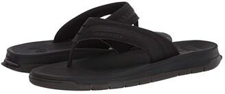 Quiksilver Coastal Excursion Travel Sandals (Black/Black/Brown) Men's Sandals