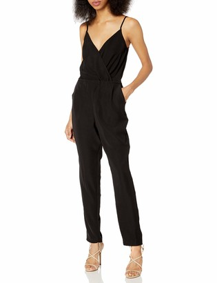 Cupcakes And Cashmere Women's Violette Soft Crepe Jumpsuit with Elastic Back Waist